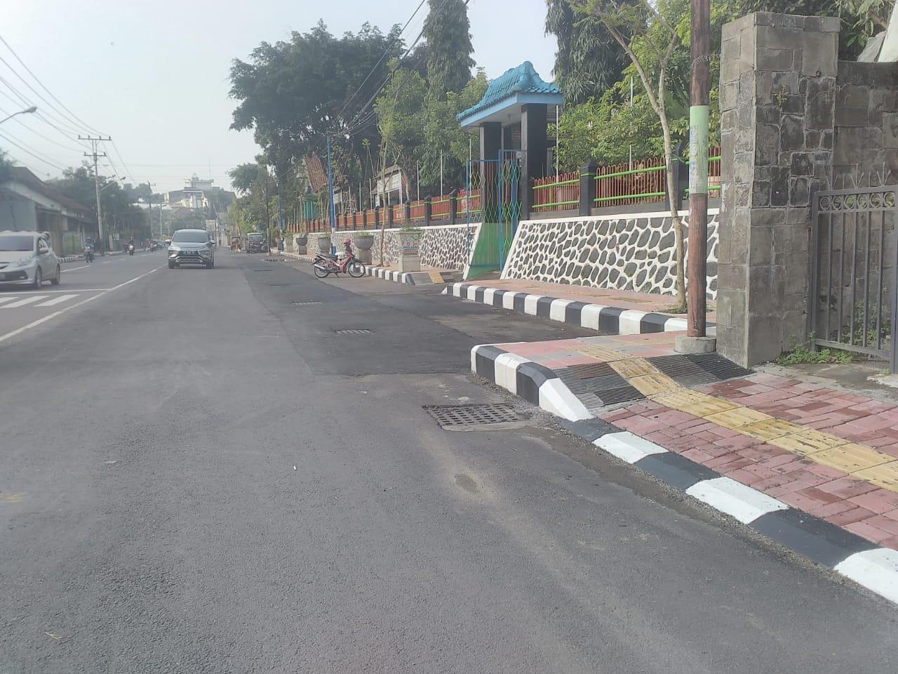 Pembangunan Jalan di Beberapa Ruas Kota Magelang Rampung Dikerjakan