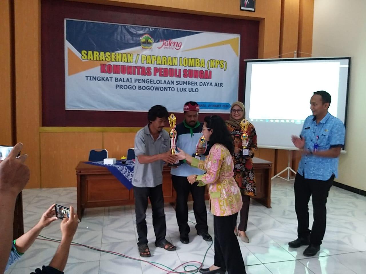 KKBM Kota Magelang Juara 1 Lomba Komunitas Peduli Sungai