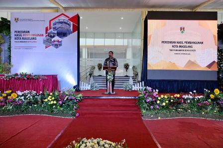 Peresmian Hasil Pembangunan Tahun 2019 & 2020 Kota Magelang