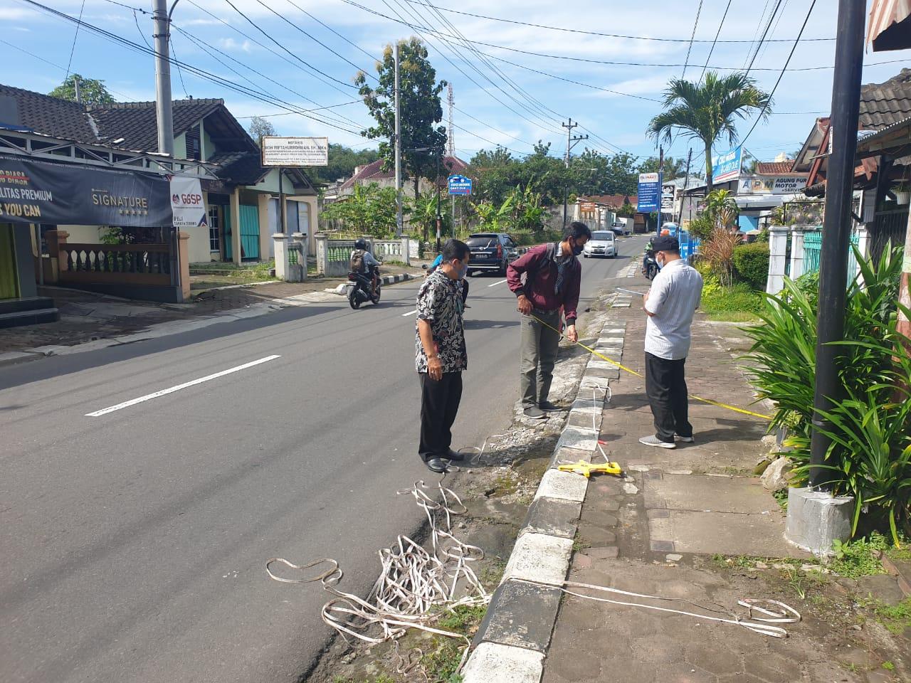 Pendataan Aset Jalan Kota Magelang